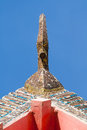 Gable apex normal resolution picture Royalty Free Stock Images