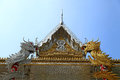 Gable Church of Buddhism Royalty Free Stock Photography