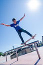 Gabriel ribeiro cascais portugal april during the th stage of the dc skate challenge by fuel tv Stock Photos