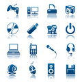 Gadget icon set Royalty Free Stock Photos