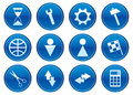 Gadget icons set. Royalty Free Stock Image