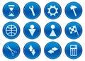 Gadget icons set. Royalty Free Stock Image