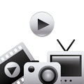 Gadgets icon Royalty Free Stock Photo