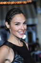 Gal gadot los angeles ca august at the world premiere of riddick at the regency village theatre westwood Stock Photography