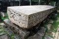 Gal pota big stone book in polonnaruwa sri lanka Stock Photo