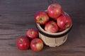 Gala apple Royalty Free Stock Photo