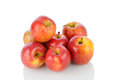 Gala Apples on White Royalty Free Stock Image