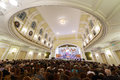 Gala evening dedicated to the th anniversary of the all russian museum association moscow oct musical culture glinka at Stock Image
