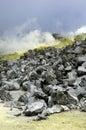 Galapagos Sulfur Volcano Royalty Free Stock Photo