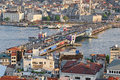 Galata Bridge, Istanbul Royalty Free Stock Images