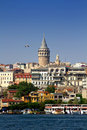 Galata Tower Stock Photo