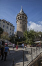 Galata tower Royalty Free Stock Photo