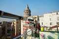 Galata tower istanbul image of turkey Stock Photos