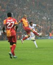 Galatasaray FC - Manchester United FC Stock Photography