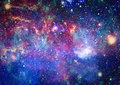 Galaxy - Elements of this Image Furnished by NASA Royalty Free Stock Photo