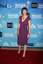 Gale ann hurd los angeles feb arrives at the naacp image awards nominee reception at beverly hills hotel on february in beverly Royalty Free Stock Images