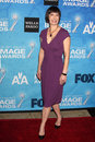 Gale ann hurd los angeles feb arrives at the naacp image awards nominee reception at beverly hills hotel on february in beverly Royalty Free Stock Image