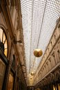 Galerie de la Reine. Covered passageway Brussels old city centre, Belgium Royalty Free Stock Photo