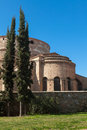 Galerius palace rotonda temple at thessaloniki greece the church of the in tomb of th century monuments in the city of in the Stock Images