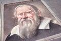 Galileo Galilei Portrait Royalty Free Stock Photo
