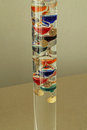 Galileo Thermometer Royalty Free Stock Photo