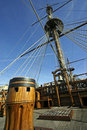 Galleon Genoa Royalty Free Stock Images