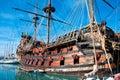 Galleon Neptune Royalty Free Stock Photo