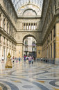 Galleria Umberto I, Naples Italy Royalty Free Stock Photo