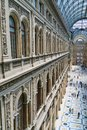 Galleria umberto naples italy view of monumental in Stock Photography