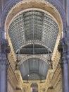 Galleria Vittorio Emanuele Stock Image