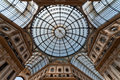 Galleria Vittorio Emanuele II arcade, Milan, Italy Royalty Free Stock Photo