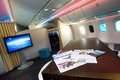 Gallery on board the Boeing 787 Royalty Free Stock Photography