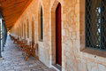 Gallery in Jerusalem Royalty Free Stock Image