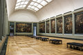 The gallery of rubens louvre in paris paintings Royalty Free Stock Photos