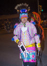 Gallup inter tribal indian ceremonial new mexico aug native american with traditional costume participates at the annual night Stock Photo