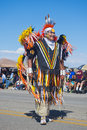 Gallup inter tribal indian ceremonial new mexico august native american with traditional costume participates at the annual parade Royalty Free Stock Photography