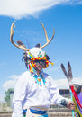 Gallup inter tribal indian ceremonial new mexico august native american with traditional costume participates at the annual parade Royalty Free Stock Image