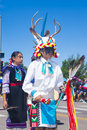 Gallup inter tribal indian ceremonial new mexico august native americans with traditional costume participates at the annual Stock Image