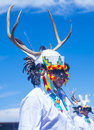 Gallup inter tribal indian ceremonial new mexico august native americans with traditional costume participates at the annual Royalty Free Stock Photography