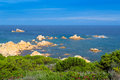 Gallura coastline Royalty Free Stock Photography