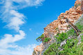 Gallura hill on a cloudy day Royalty Free Stock Photo