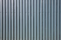 Galvanised steel fence Royalty Free Stock Photo