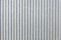 Galvanized sheet - Corrugated metal surface texture with copy space. Royalty Free Stock Photo