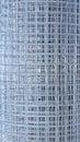 Galvanized welded meshes background of Stock Photo