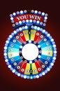 Gamble wheel Royalty Free Stock Photo