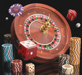 Gambling concept of casino and Royalty Free Stock Photography