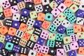 Gambling dice background Royalty Free Stock Photo