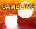 Gambling dice concept background Royalty Free Stock Photo