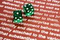 Gambling enterprise Royalty Free Stock Photo