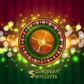 Gambling European Roulette banner.